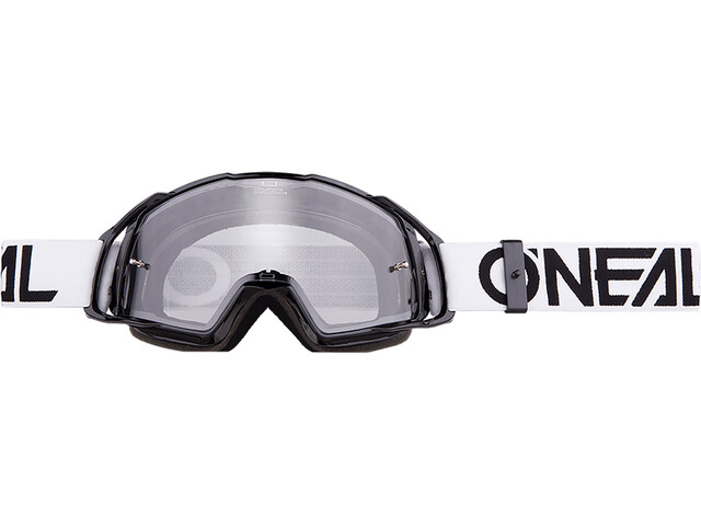 ONeal B-20 Goggle FLAT black/white-clear